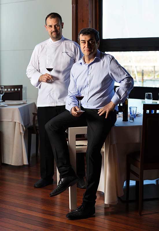 Gonzalo y Toni Restaurante Auga